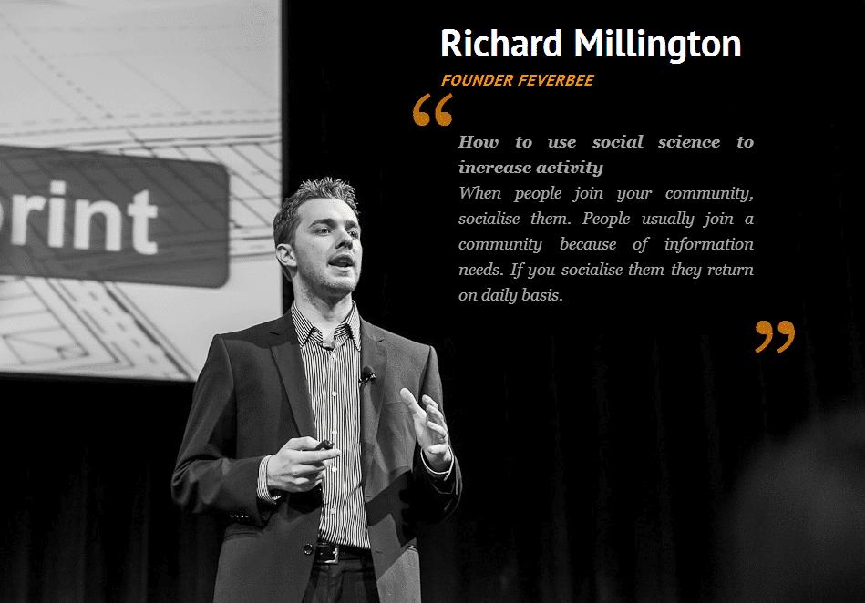 The Social Conference - Richard MIllington - Sociale wetenschap gebruiken om activiteit van mensen te verhogen