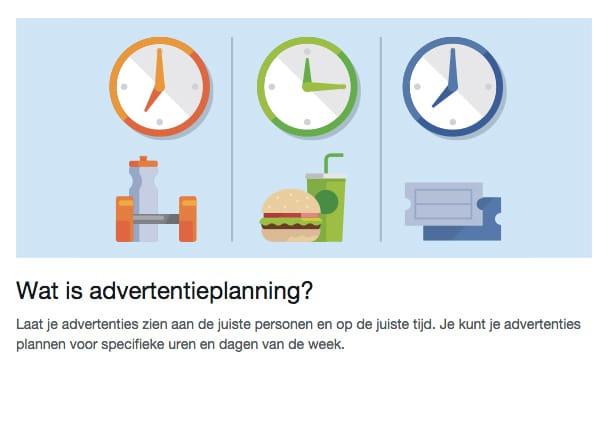 Facebook adverteren - Wat is advertentieplanning