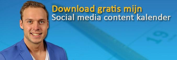Social media content kalender