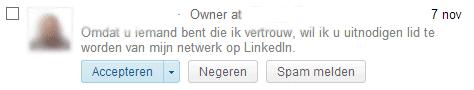Waarom ik niet met jou wil linken op LinkedIn