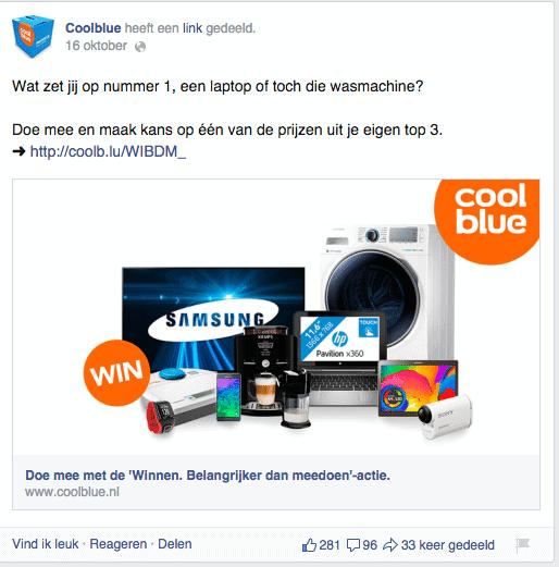 social-mediacampagne coolblue