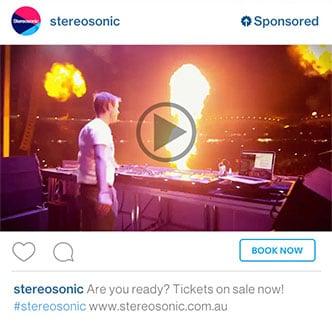 stereosonic instagram adverteren bedrijven