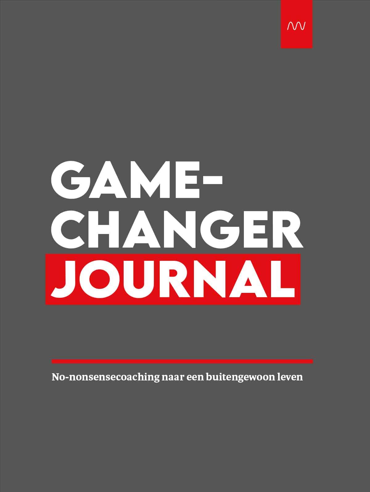 Zo word je een gamechanger journal